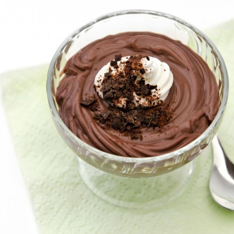 بودينغ الشوكولاتة الداكنة