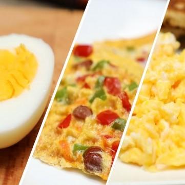 البيض بـ 3 وصفات مبتكرة بالفيديو