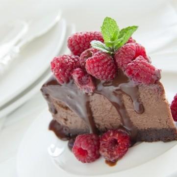 تشيز كيك الشوكولاتة بالفرن