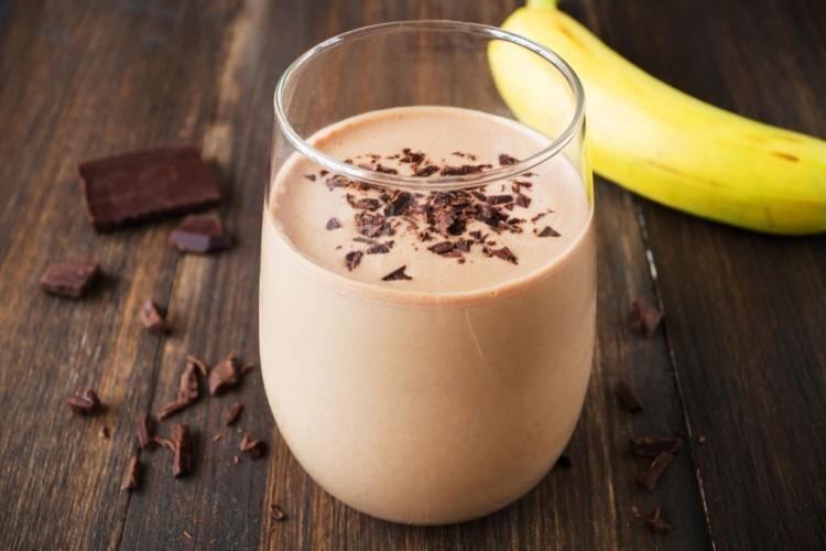 سموذي الموز بالشوكولاتة
