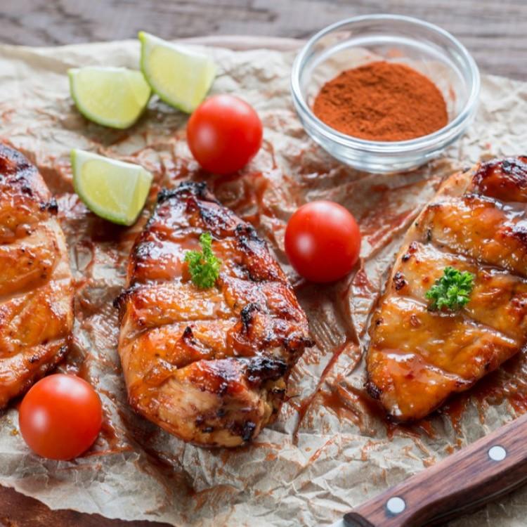 دجاج مشوي بالخل البلسمي للرجيم