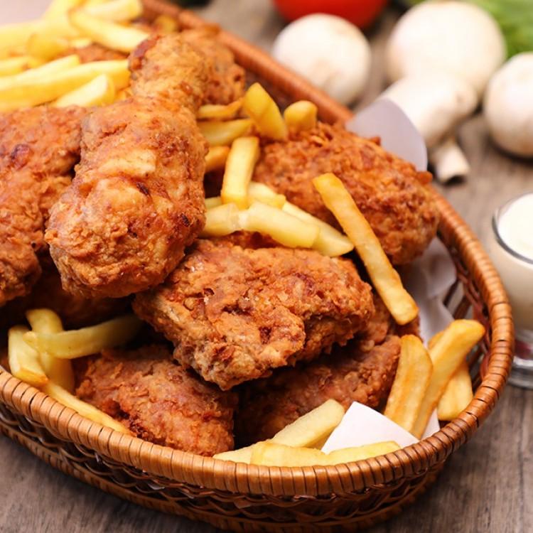 بروستد الدجاج على طريقة المطاعم بالفيديو
