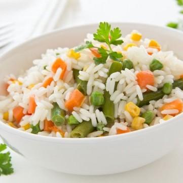 أرز بالفرن مع الخضار
