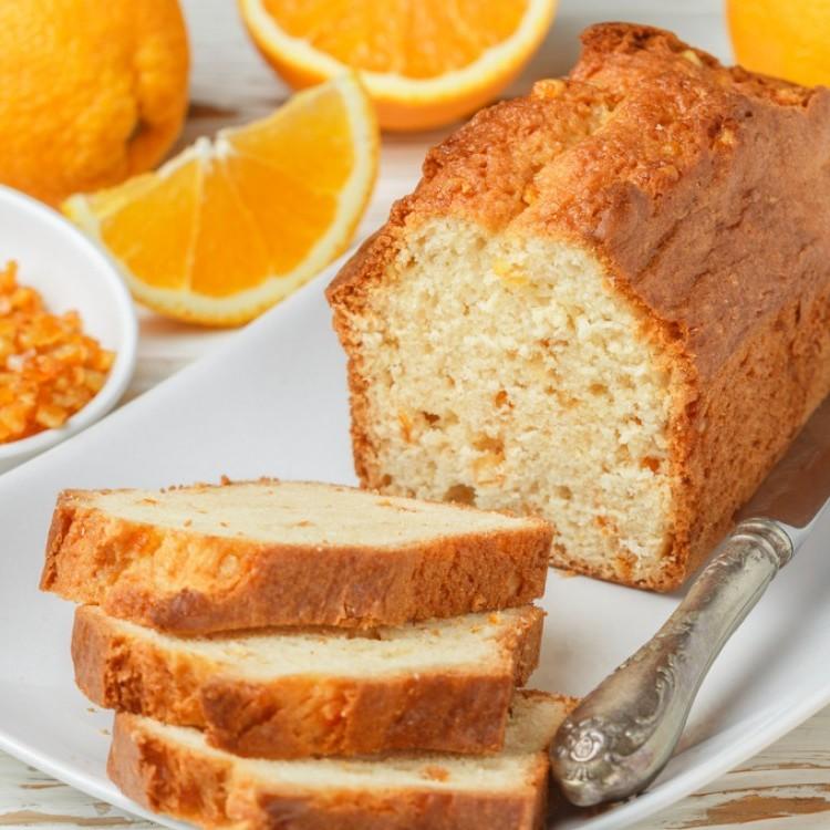 كيكة البرتقال بالزنجبيل