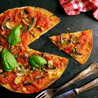 بيتزا صحية للدايت