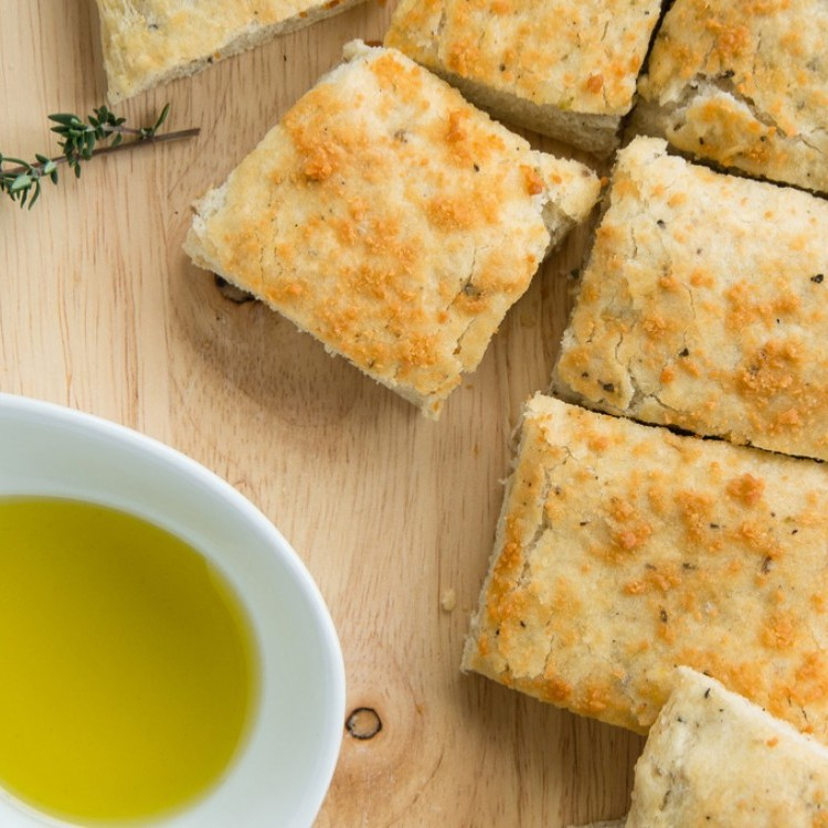 كيكة الزعتر بجبن الكيري