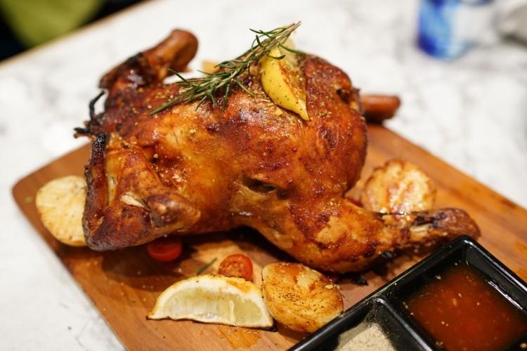 دجاج مشوي بالكاتشاب والصويا