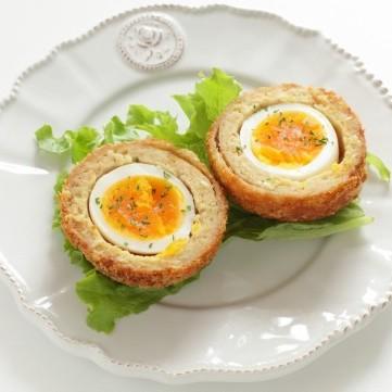 البيض على الطريقة الإسكتلنديّة