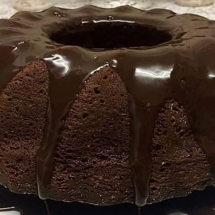 كيك الشوكولاتة الداكنة