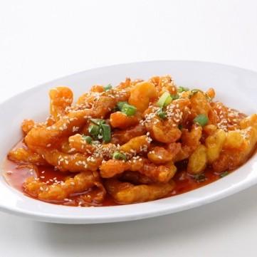 دجاج صيني بالبرتقال صحي للرجيم
