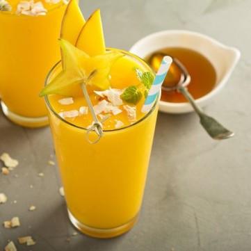 سموذي المانجو بالعسل