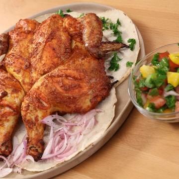 دجاج مشوي بالخلطة بالفيديو