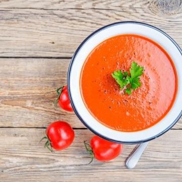 شوربة طماطم دايت