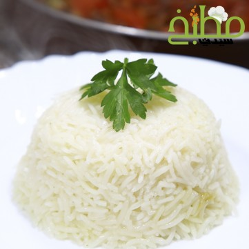 الأرز الأبيض المفلفل خطوة بخطوة بالصور
