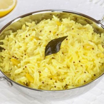 أرز بالليمون