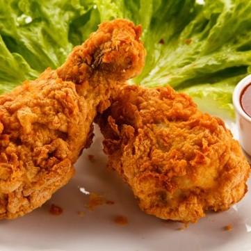 بروستد دجاج بالشوفان المقلي