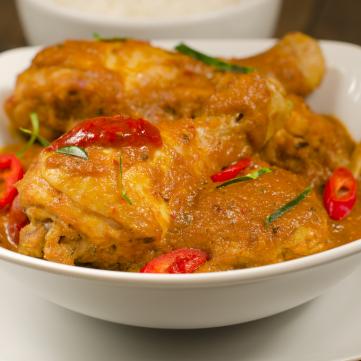 دجاج بالبصل على الطريقة الهندية