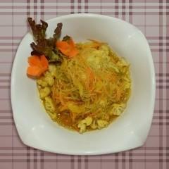 نودلز بالخضار من المطبخ الآسيوي