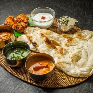 وصفات الخبز من المطبخ الهندي
