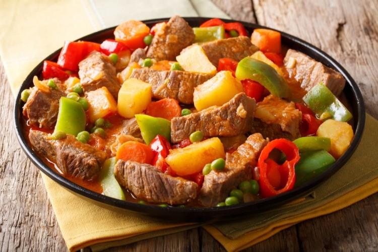 ايدام اللحم بالخضار للرجيم