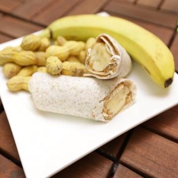 ساندويش الموز وزبدة الفول السوداني بالفيديو