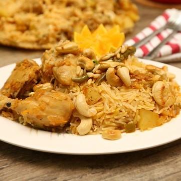 الأرز الكابلي بالبرتقال بالفيديو