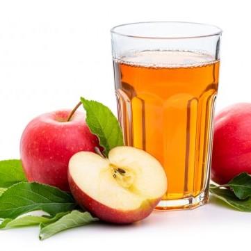 عصير التفاح مثل المطاعم