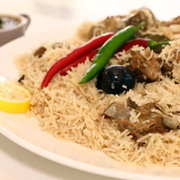 الكبسة البيضاء من المطبخ السعودي