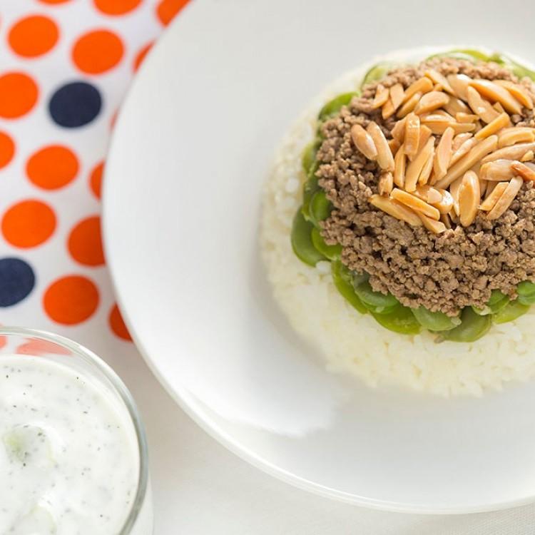 الأرز بالفول الأخضر للرجيم
