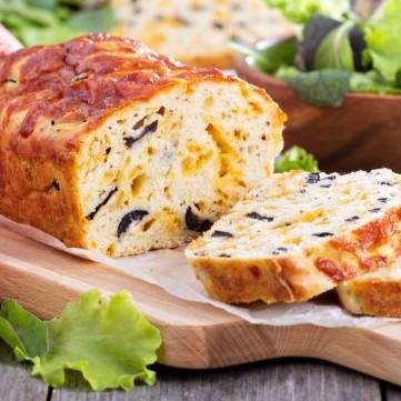 كيكة مالحة بالجبن