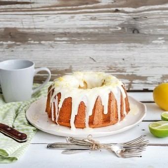 صوص كيكة الليمون الأبيض