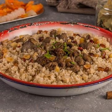 الأرز بكبدة الدجاج