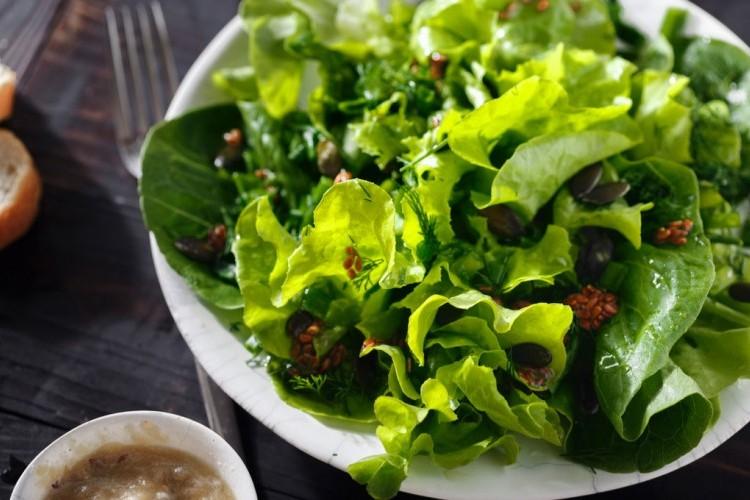 طريقة عمل سلطة خضراء للرجيم السلطات أكلات رجيم