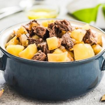 يخنة اللحم بالخضار سهلة وشهية
