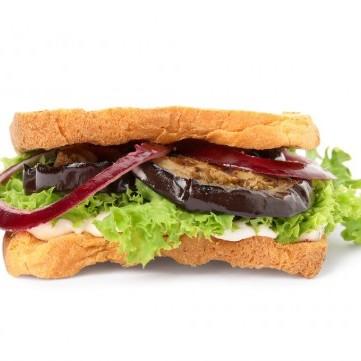 ساندويش الباذنجان المقلي